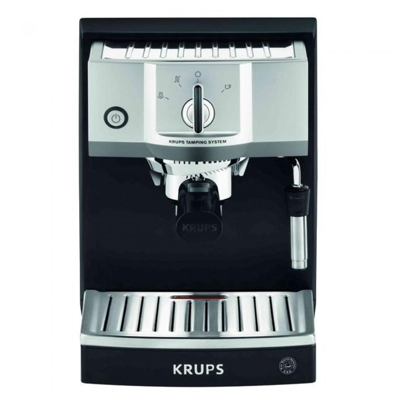 Aвтоматична еспресо машина Krups XP562030 NK3, 1450W 15 bar, черна в Кафемашини -    Alleop