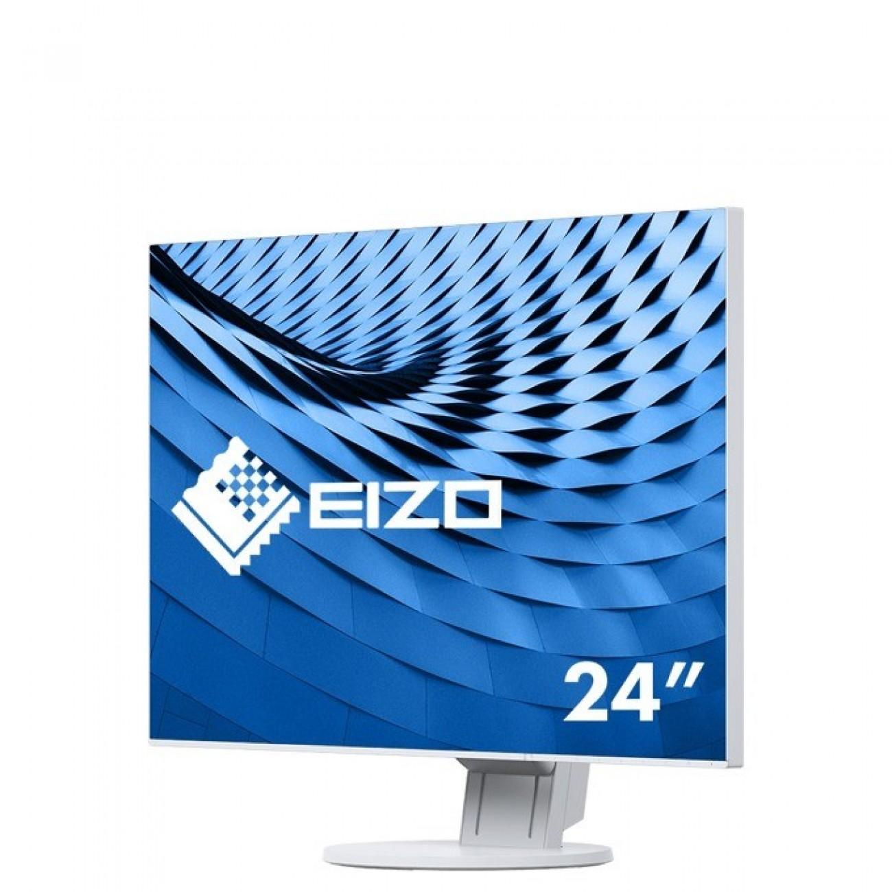 Монитор EIZO EV2456-WT, 24.1(61.21 см) IPS панел, WUXGA, 5ms, 250 cd/m2, HDMI, DP, DVI, VGA в Монитори -  | Alleop