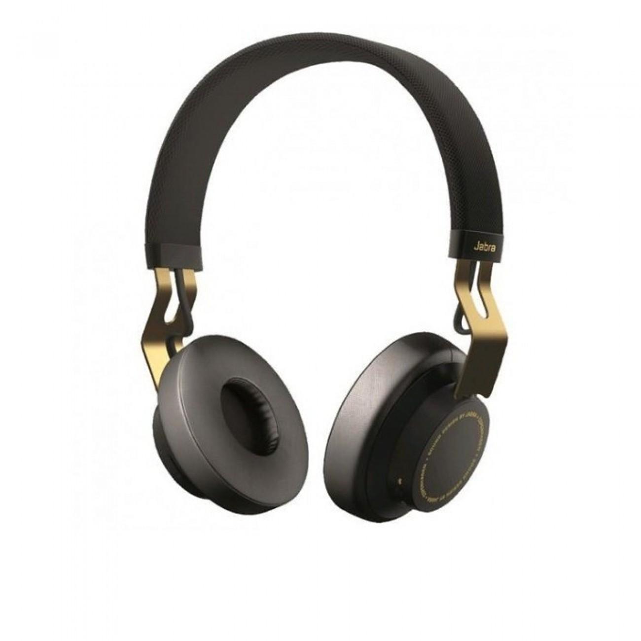 Слушалки Jabra, Move Coal, Bluetooth, добро качество на звука с дълбок бас, Златисти/Черни в Bluetooth аксесоари и Handsfree -  | Alleop
