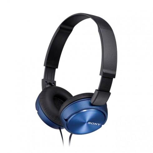 Слушалки Sony MDR-ZX310, сини в Слушалки -  | Alleop