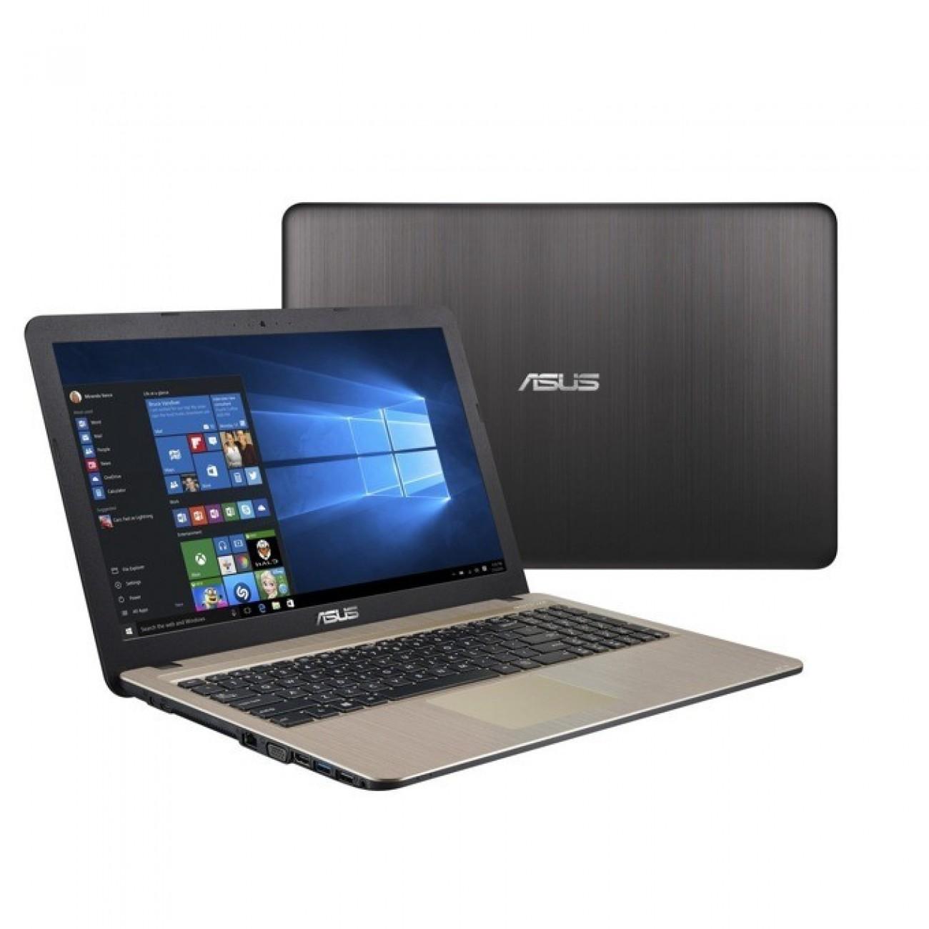 Лаптоп Asus X540UB-GQ041 (90NB0IM1-M00500), двуядрен Skylake Intel Core i3-6006U 2.00 GHz, 15.6 (39.62 cm) HD Glare Display & GF MX110 2GB, (HDMI), 4GB DDR4, 1TB HDD, 1x USB 3.0, Linux, 2.0 kg в Лаптопи -  | Alleop