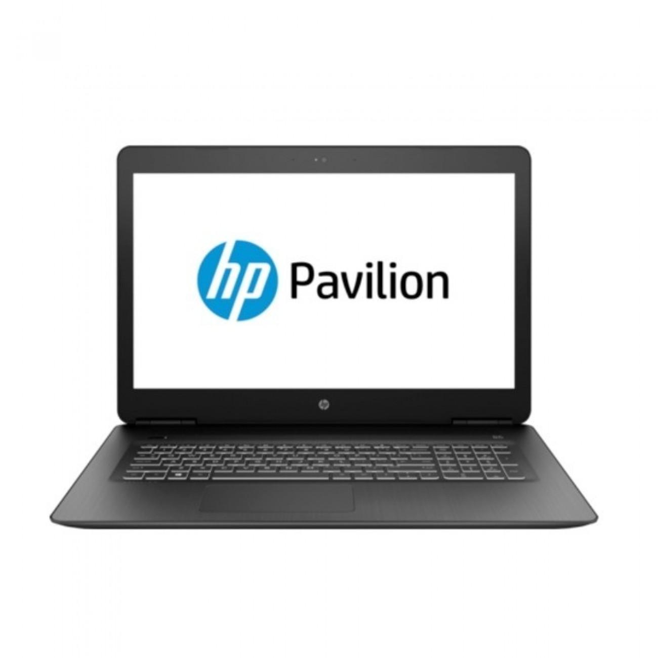 Лаптоп HP Pavilion 17-ab401nu (4MU13EA), шестядрен Coffee Lake Intel Core i7-8750H 2.2/4.1 GHz, 17.3 (43.94 cm) Full HD IPS Anti-Glare Display & GF GTX 1050 Ti 4GB, (HDMI), 8GB DDR4, 256GB SSD & 1TB HDD, 2x USB 3.1, Free DOS, 3.07 kg в Лаптопи -