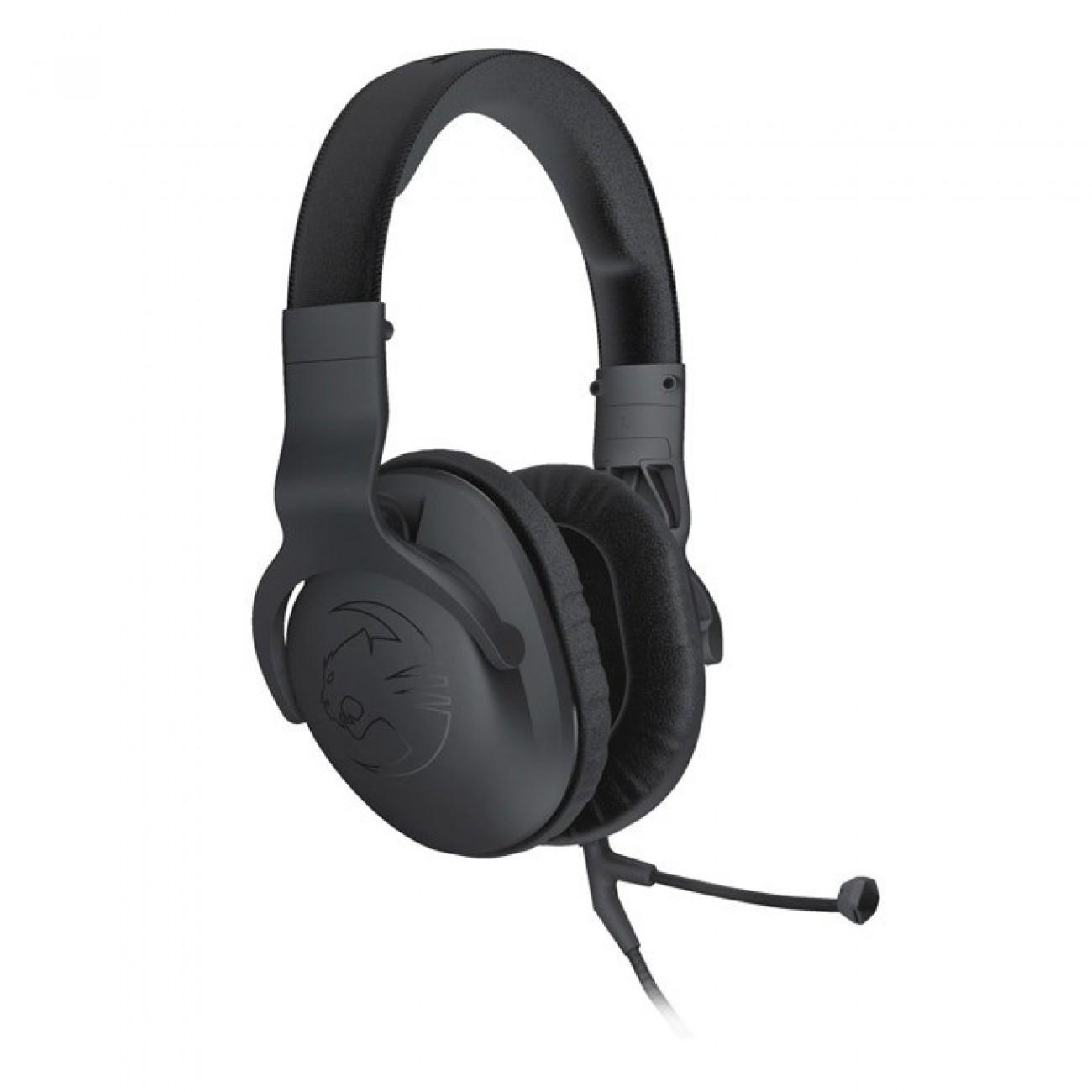 Слушалки Roccat Cross ROC-14-510, микрофон, гейминг, 2020000Hz, 2.35м кабел, черни в Слушалки -    Alleop