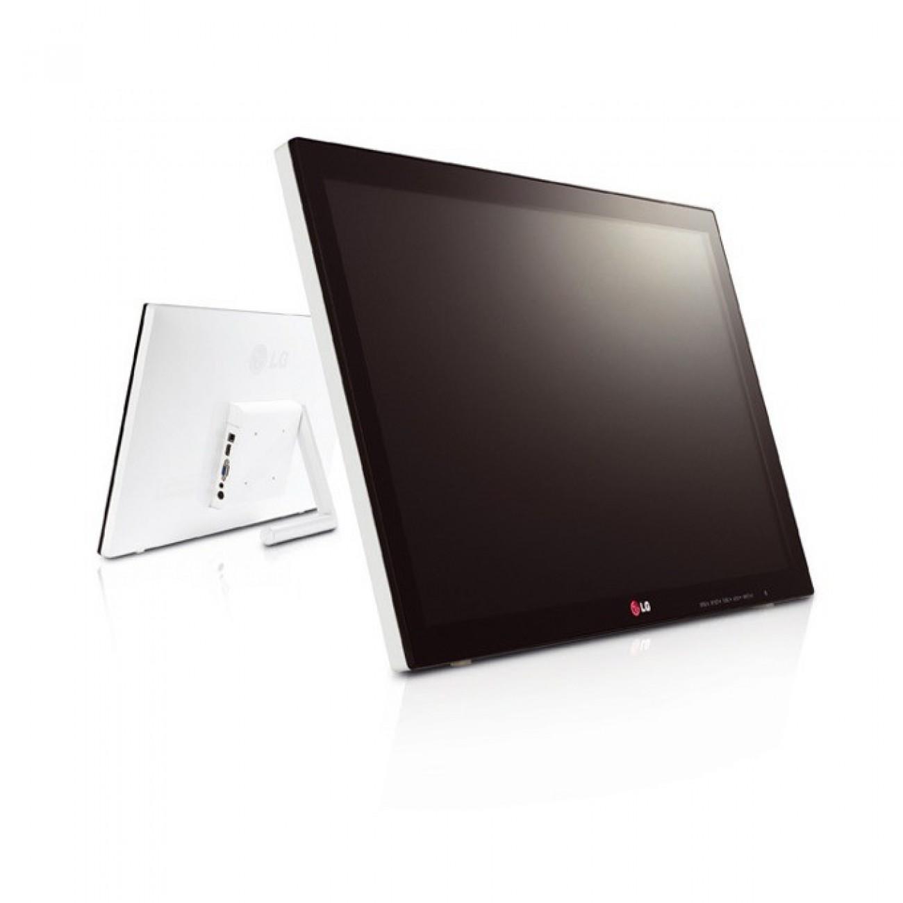 Монитор 23 (58.42 cm) LG 23ET63V-W, AH-IPS, Touch, 5ms, 250cd/m2, 5 000 000:1, HDMI, Бял в Монитори -  | Alleop