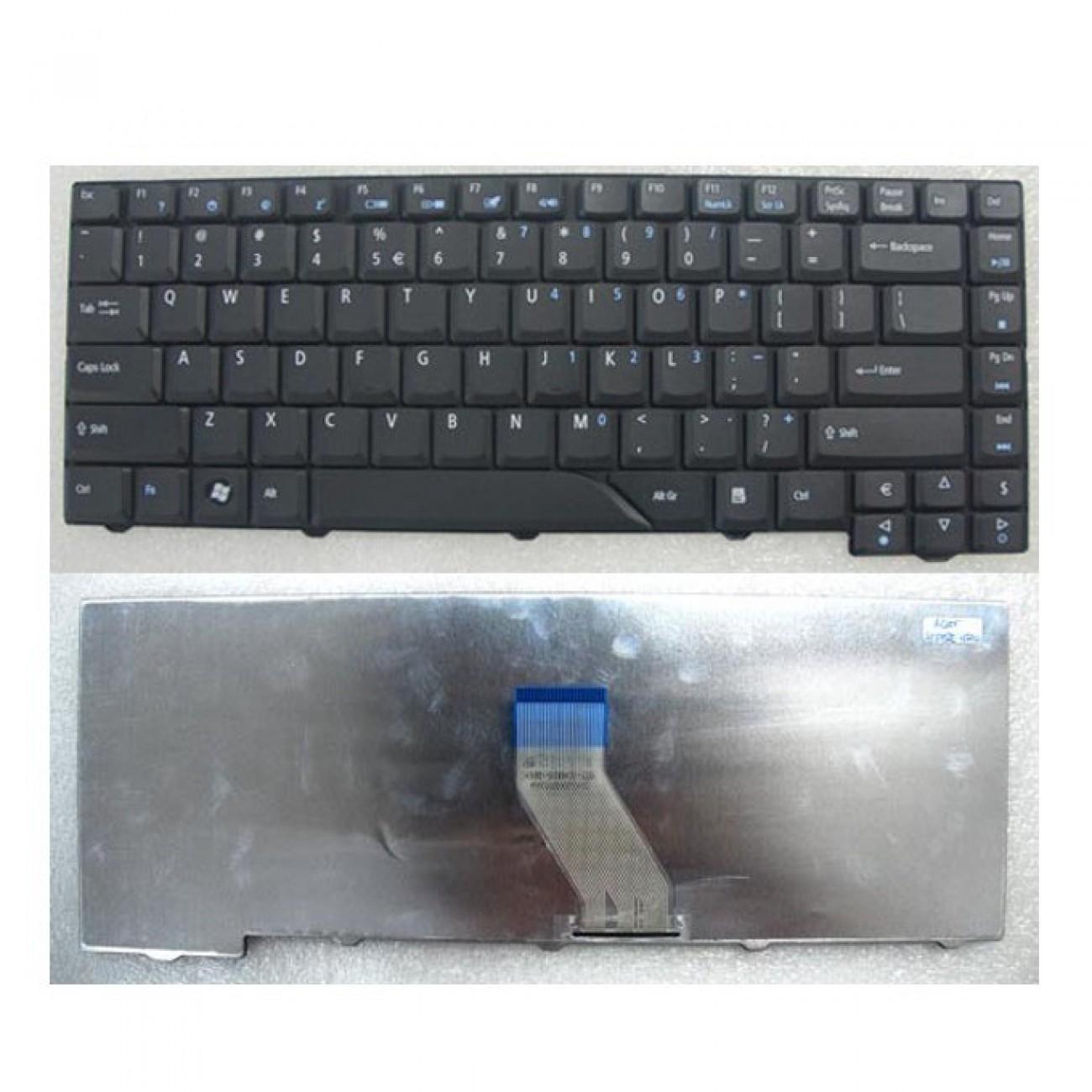 Клавиатура за Acer Aspire 4730, съвместима с 4930/5315/5320/5520/5530/5720, с КИРИЛИЦА в Резервни части -  | Alleop