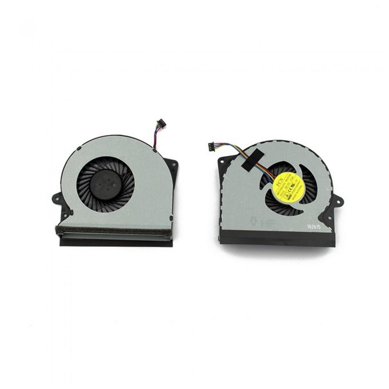 Вентилатор за лаптоп ASUS G751 G751J G751M G751JT G751JY G751JL в Резервни части -  | Alleop