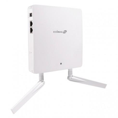 Access point/Аксес пойнт, Edmax WAP1200 Dual-Band Wall-Mount PoE, 2.4/5GHz (1200 Mbps), 2x2dBi външни антени, PoE, RADIUS сървър в Аксеспойнт / Рипийтър -    Alleop
