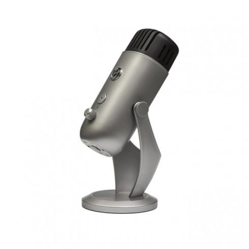 Микрофон Arozzi Colonna, настолен, USB 2.0, 3.5mm жак, 114dB, сребрист в Микрофони -    Alleop