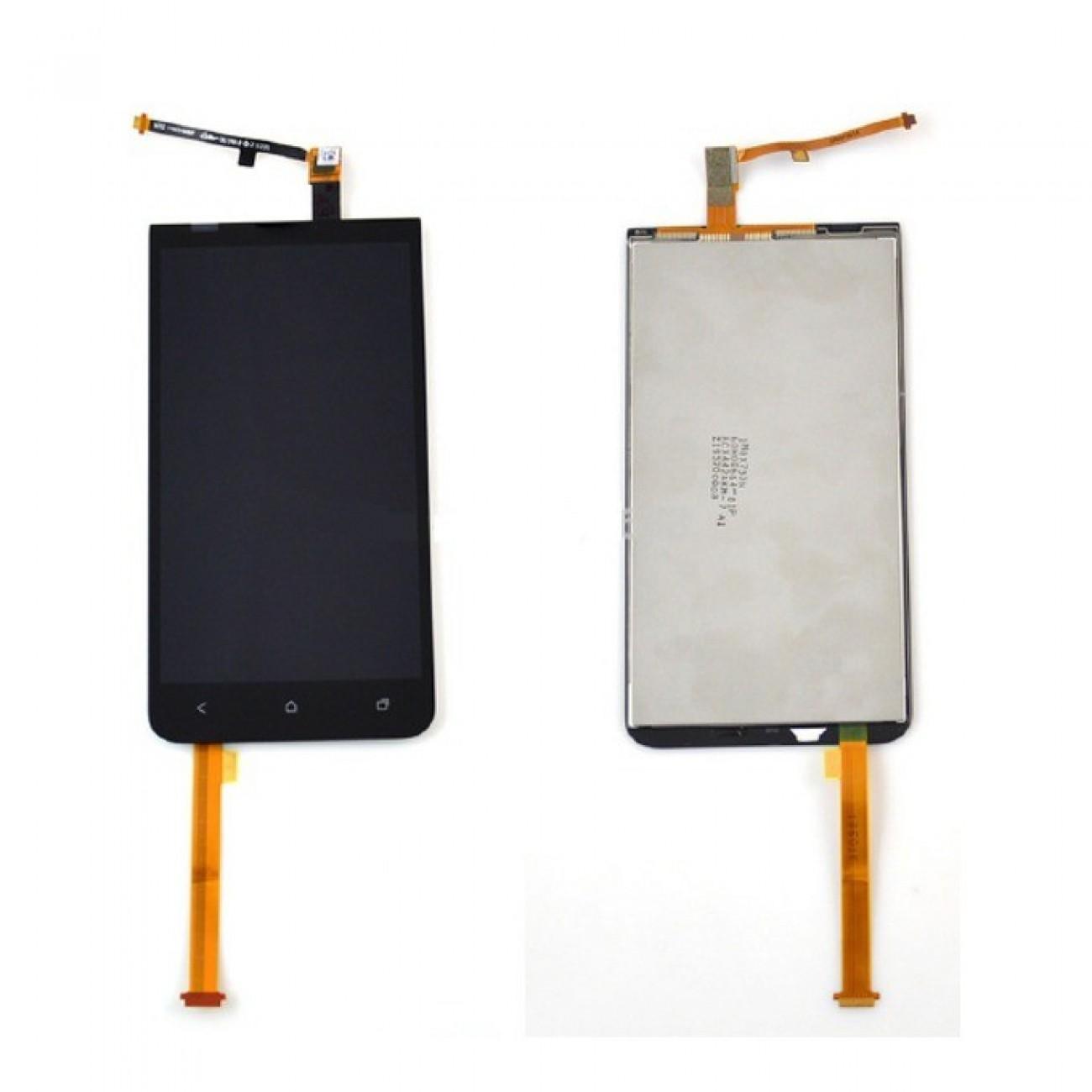 Дисплей за HTC One XC LCD, черен в Резервни части -  | Alleop
