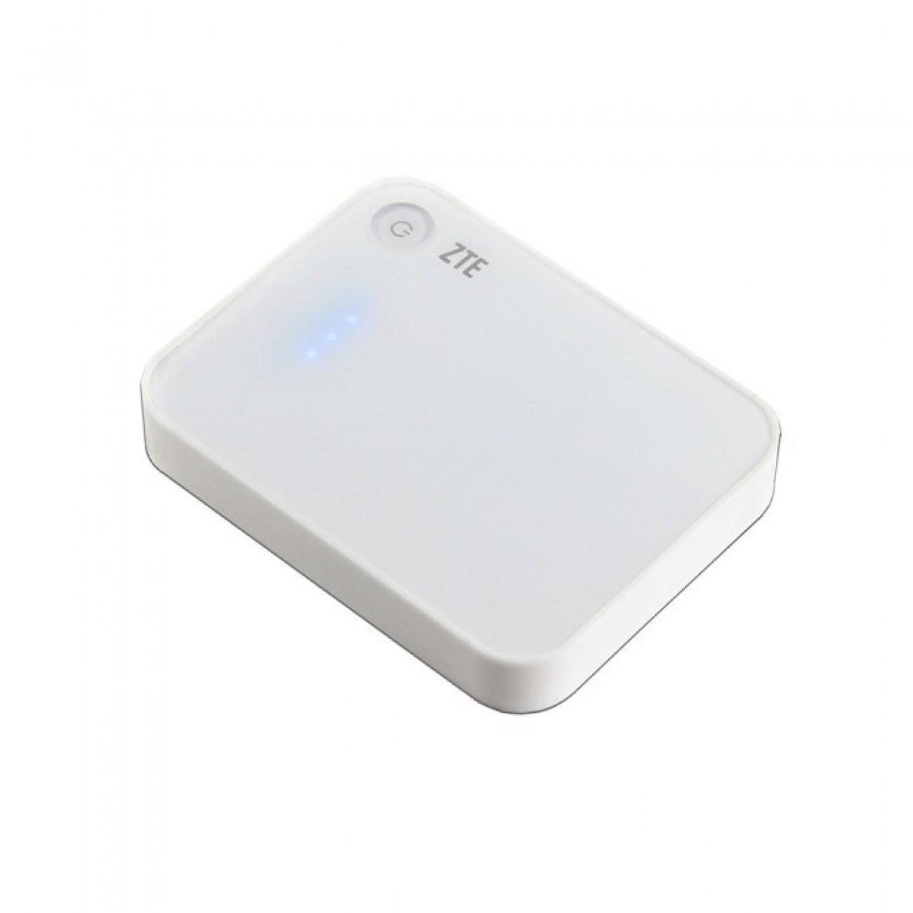 Външна батерия/power bank ZTE Power Cube P40, 4000mAh, USB, бяла в Външни батерии -  | Alleop
