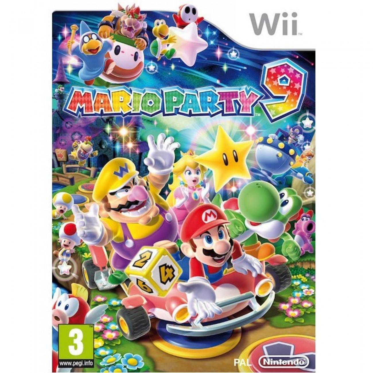 Mario Party 9, за WII в Игри за Конзоли -    Alleop