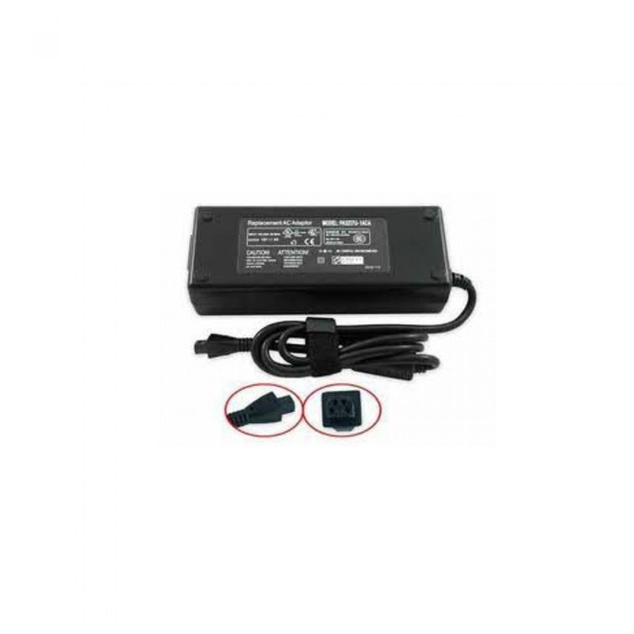 Захранване (заместител) за лаптопи Toshiba, 15V/8A/120W, 4-пинова букса в Захранвания за Лаптопи -  | Alleop