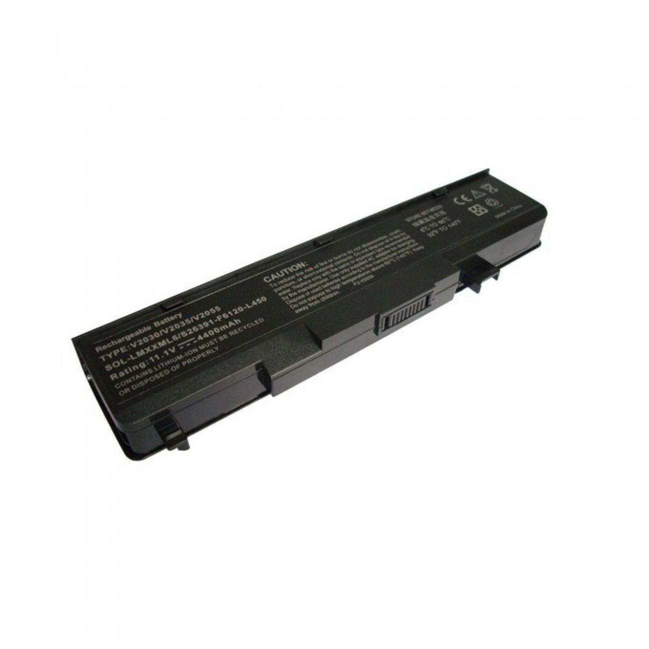 Батерия (заместител) за Fujitsu-Siemens L7320, съвместима с Li1705/Amilo Pro V2030/V2055, 6cell, 11.1V, 4400mAh в Батерии за Лаптоп -  | Alleop