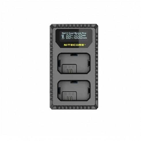 Зарядно Nitecore USN1, за фотоапарати Sony, Sony NP-FW50, 5V/2A, 2 слота, черно в Батерии, Зарядни за фото, видео -  | Alleop