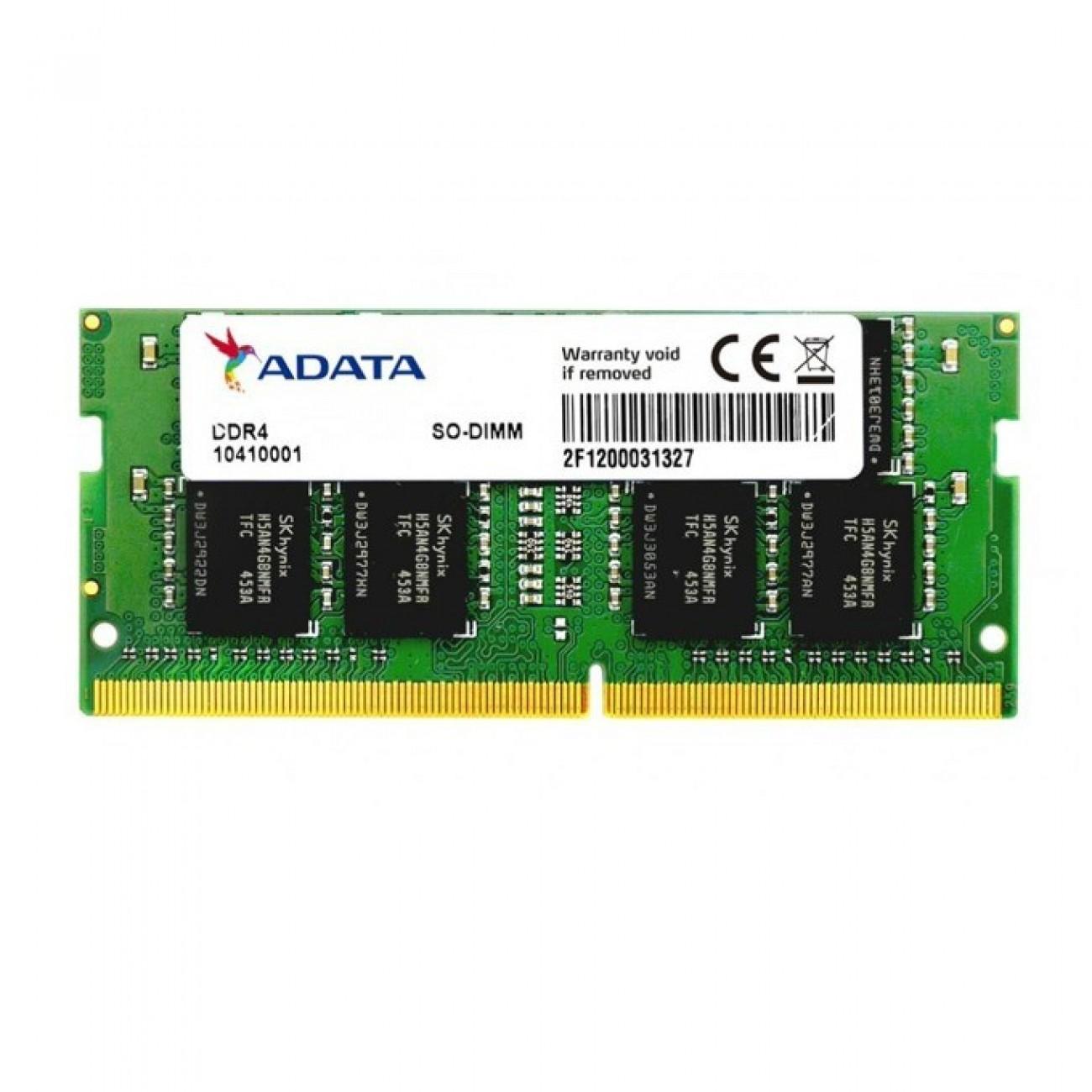 8GB DDR4 2666MHz, SO-DIMM, A-Data AD4S266638G19-B, 1.2V в Лаптоп Памети -  | Alleop