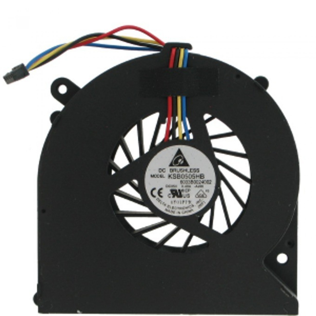 Вентилатор за лаптоп, Toshiba C600, C655, C650, L630, 4 Pin, TYPE 3 в Резервни части -  | Alleop