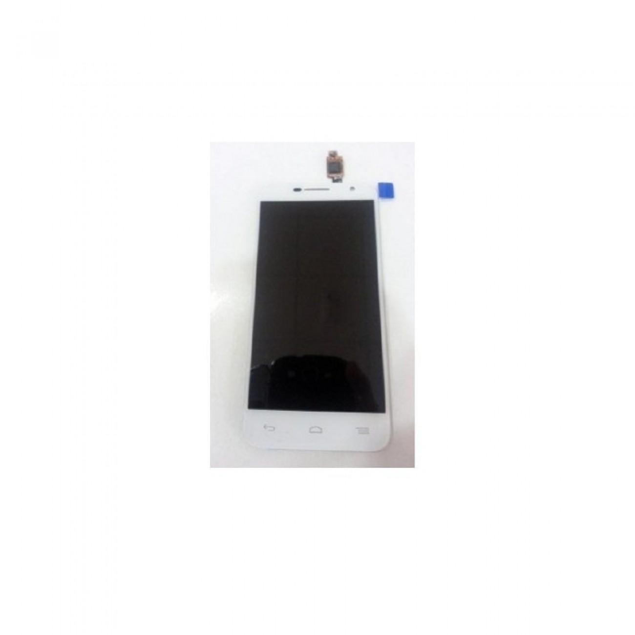 Дисплей зa Alcatel Idol 2 6037B, LCD, бял в Резервни части -    Alleop