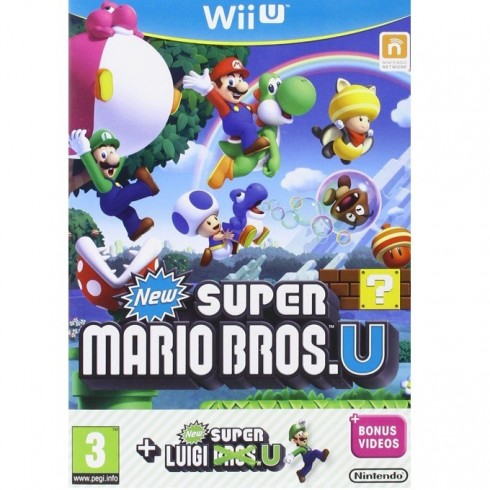 New Super Mario Bros. + New Super Luigi Bros, за Wii U в Игри за Конзоли -  | Alleop
