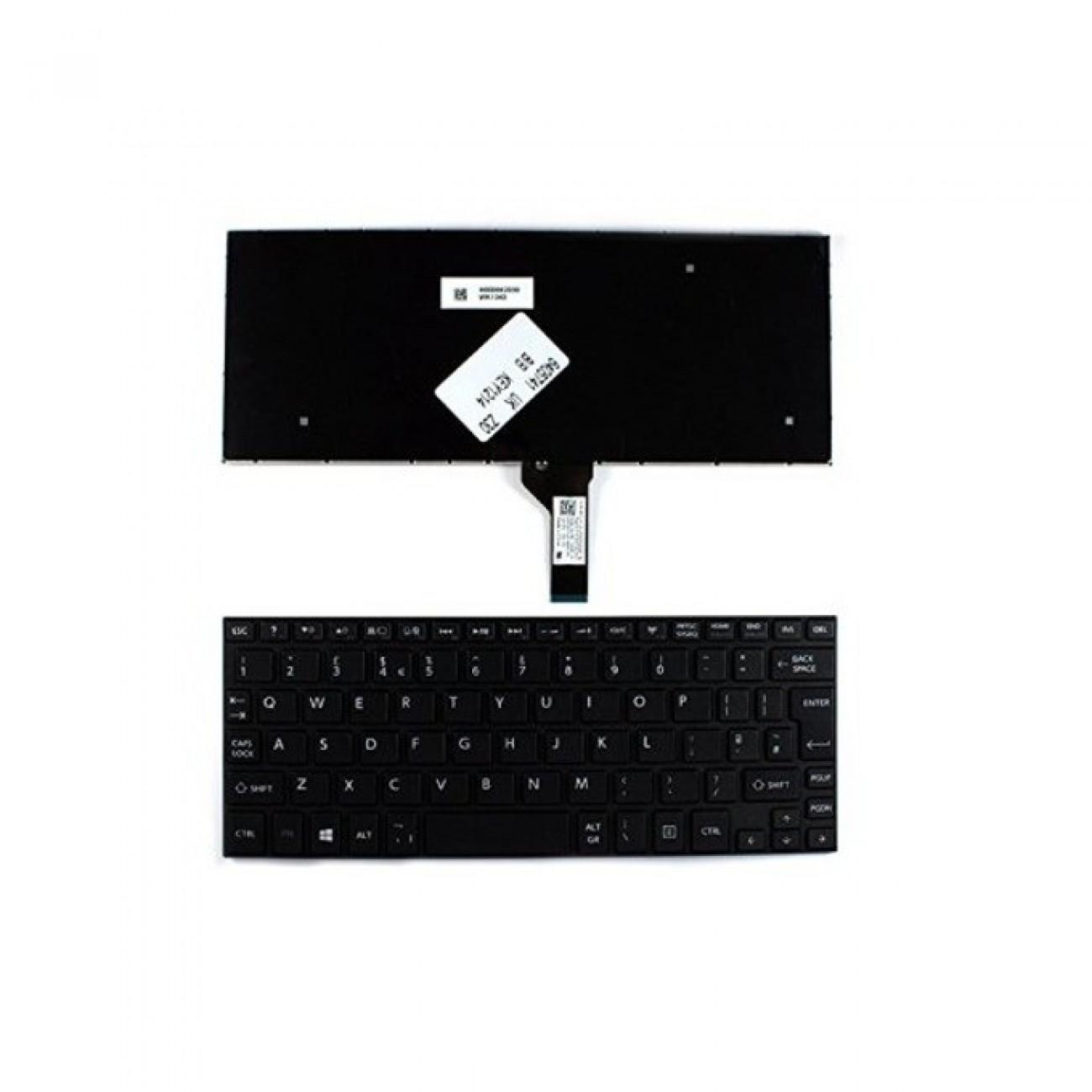 Клавиатура за Toshiba Satellite NB10 NB15, черна, UK в Резервни части -    Alleop