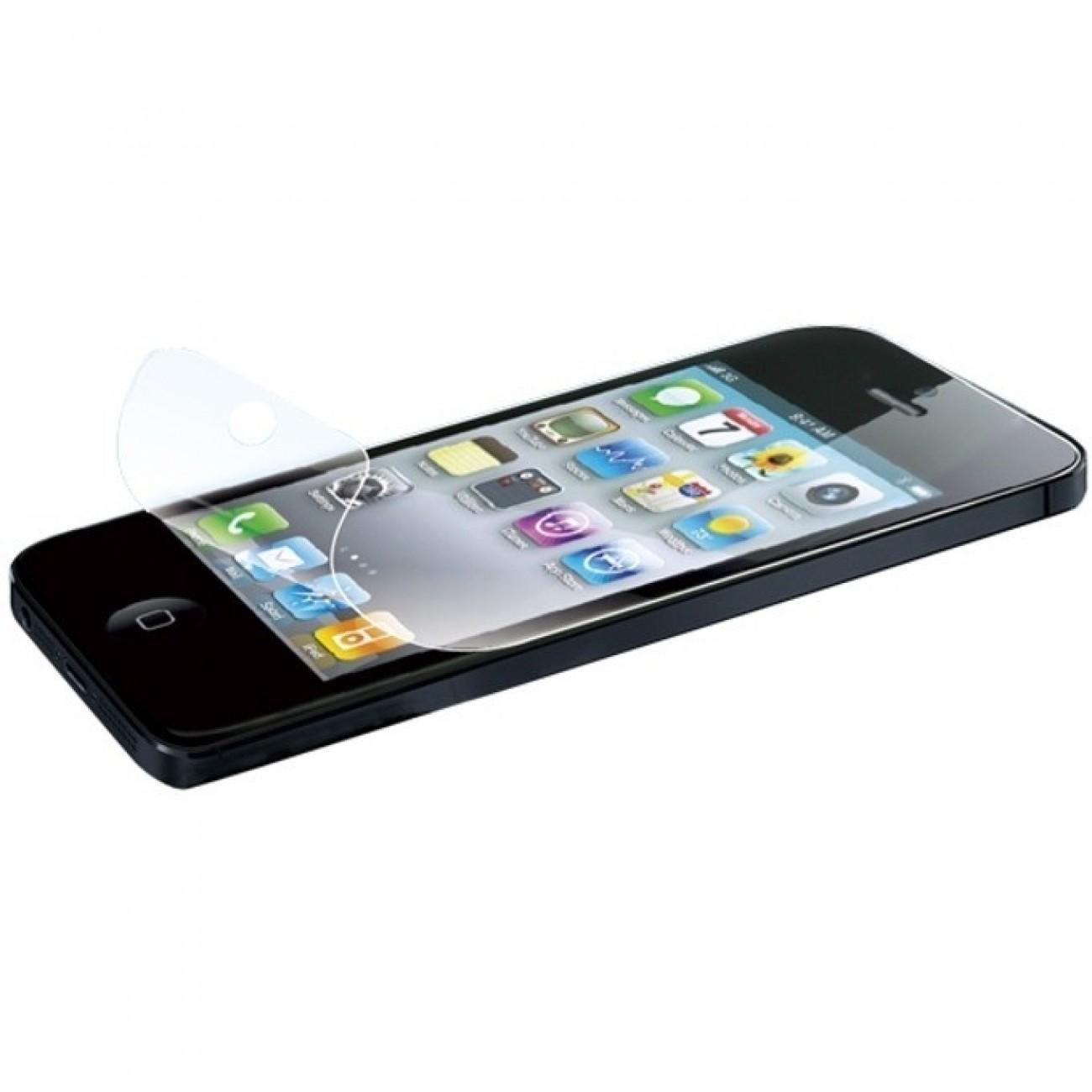 Протектор от закалено стъкло/Tempered Glass/, LogiLink AA0040, за iPhone 5, черен в Защитно фолио -  | Alleop