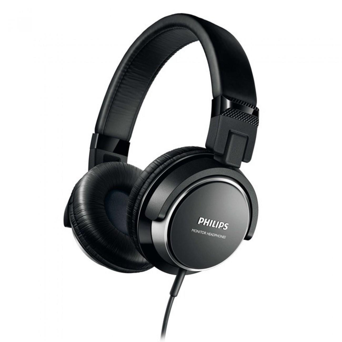 Слушалки Philips SHL3260BK, 106 dB, 2000 mW, черни в Слушалки -  | Alleop