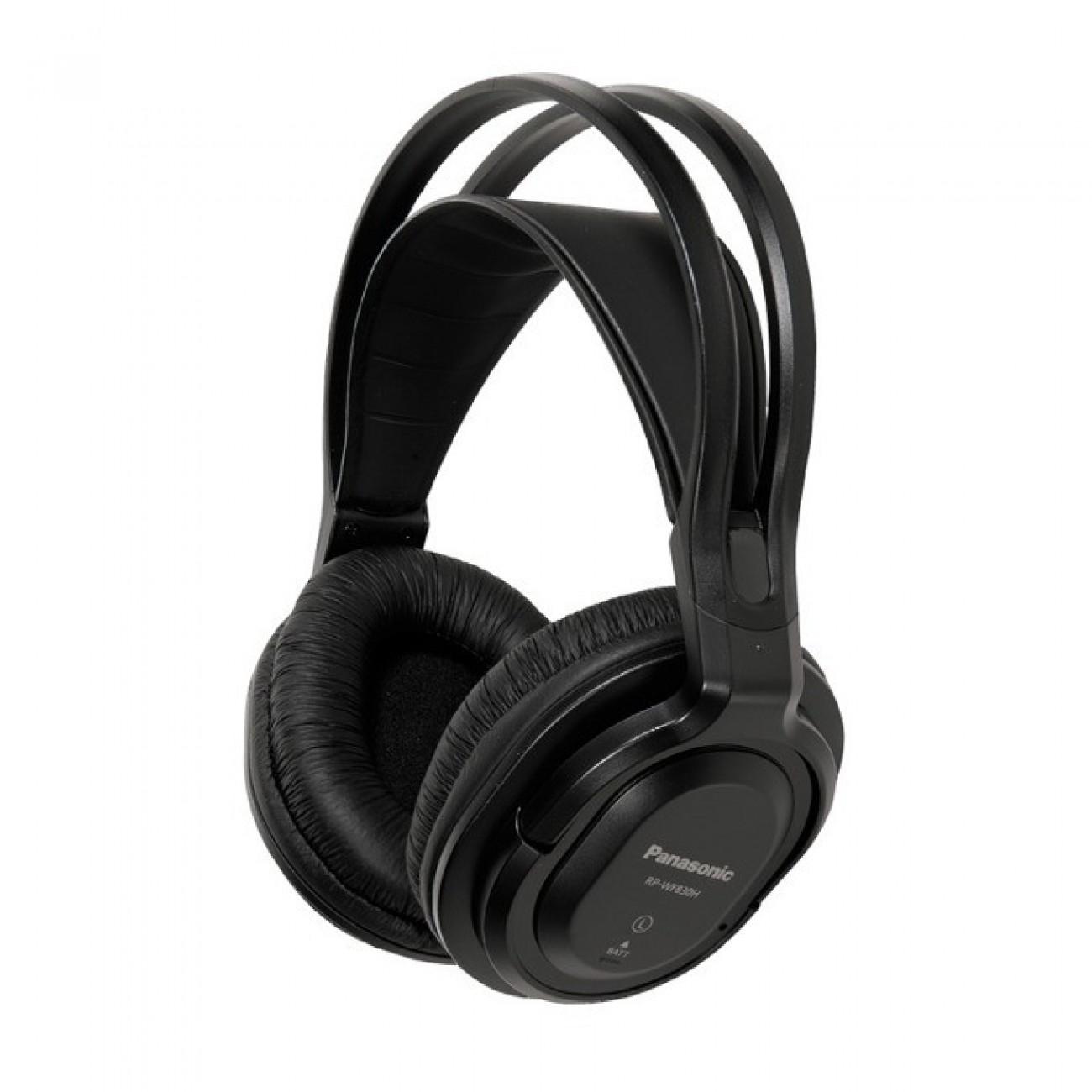 Слушалки Panasonic RP-WF830E, безжични, черни в Слушалки -  | Alleop