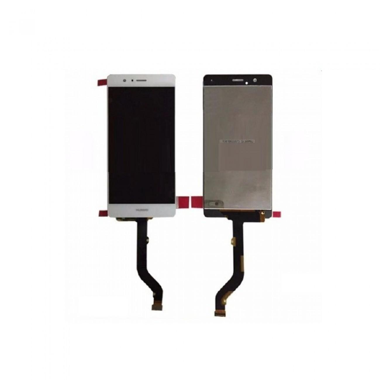 Дисплей зa Huawei Ascend P9, touch, бял в Резервни части -  | Alleop