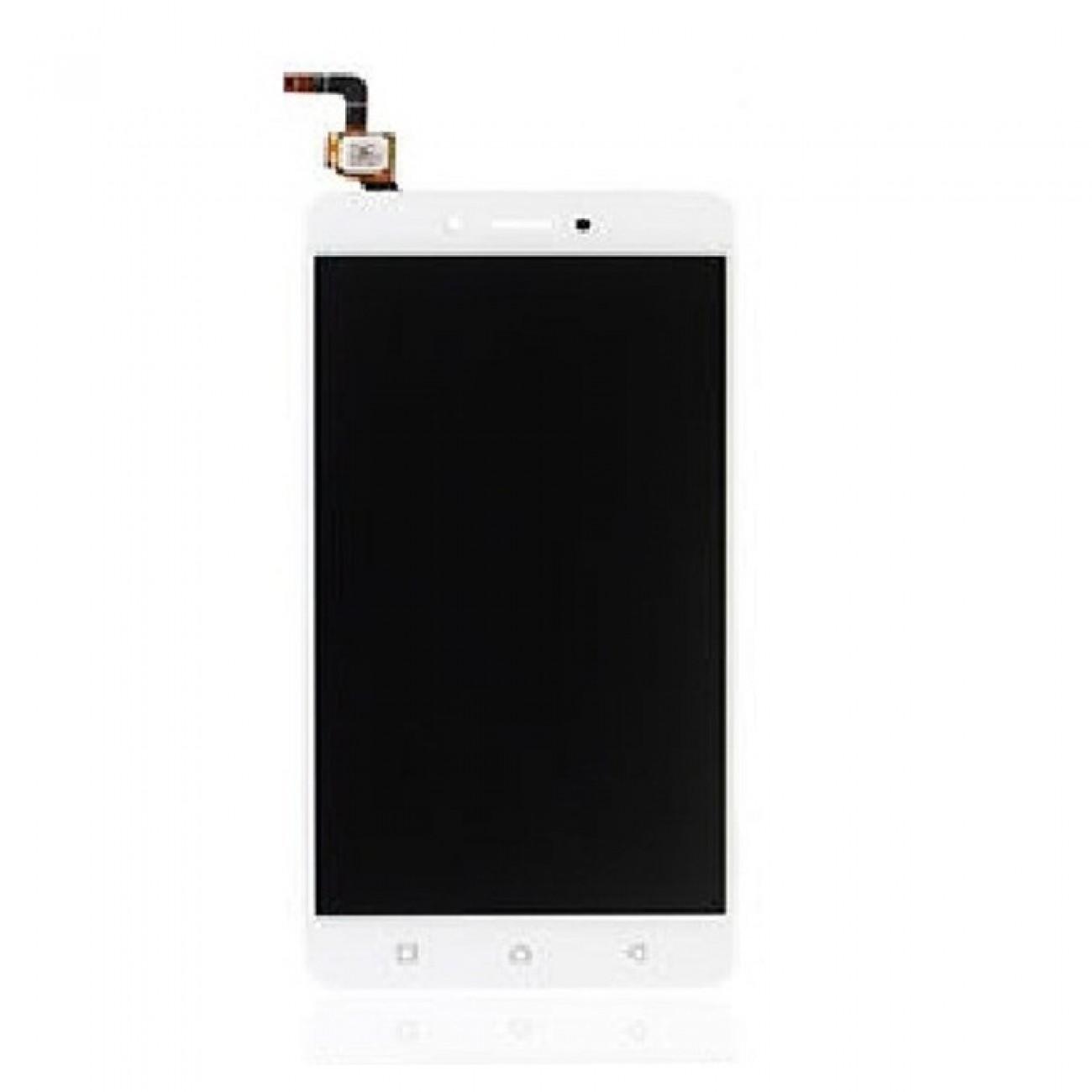 Дисплей за Lenovo Vibe K6 Note, с тъч, бял в Резервни части -  | Alleop
