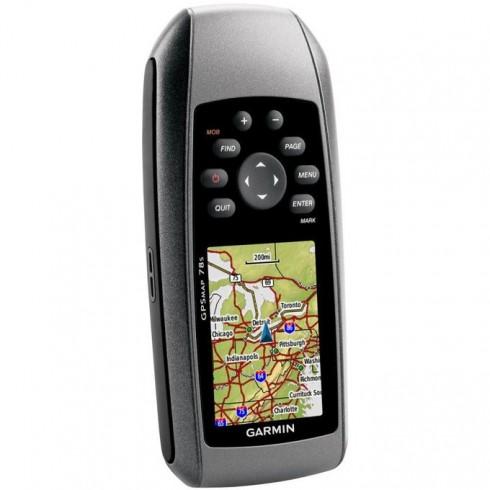 GARMIN GPSMAP 78s BG, ръчна туристическа навигация, водоустойчива, алтиметър, електронен компас, цветен сензорен дисплей, microSD слот, подробна карта на България (+off-road) и Световна базова карта в GPS Навигатори -  | Alleop