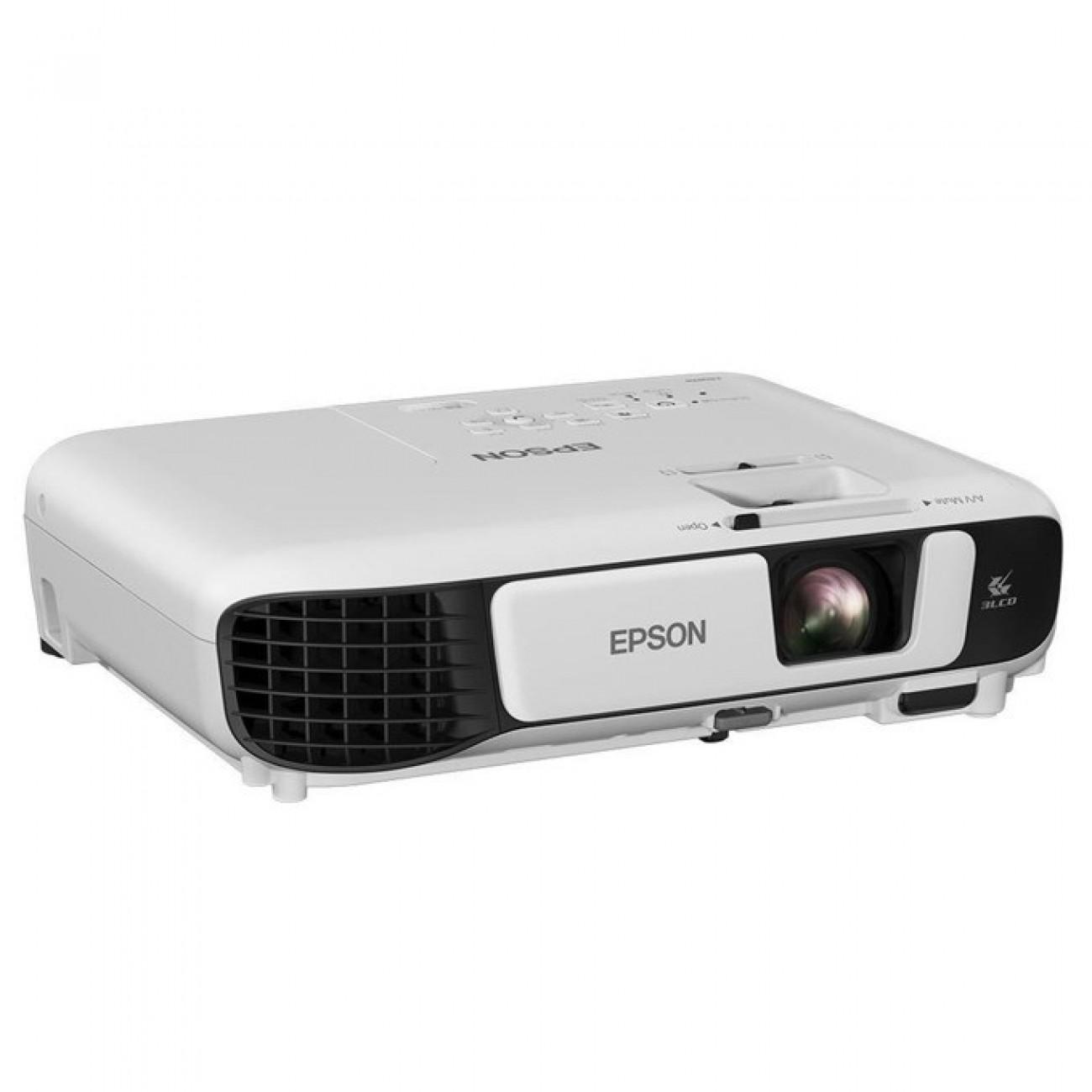 Проектор Epson EB-W41, 3LCD, WXGA (1280 x 800), 15,000:1, 3600 lm, HDMI, USB Type A, USB Type B, VGA в Проектори -  | Alleop