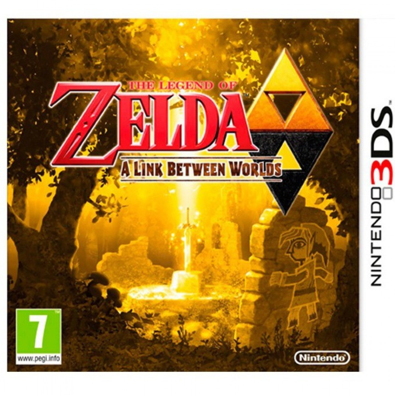 The Legend of Zelda: A Link Between Worlds, за 3DS в Игри за Конзоли -  | Alleop