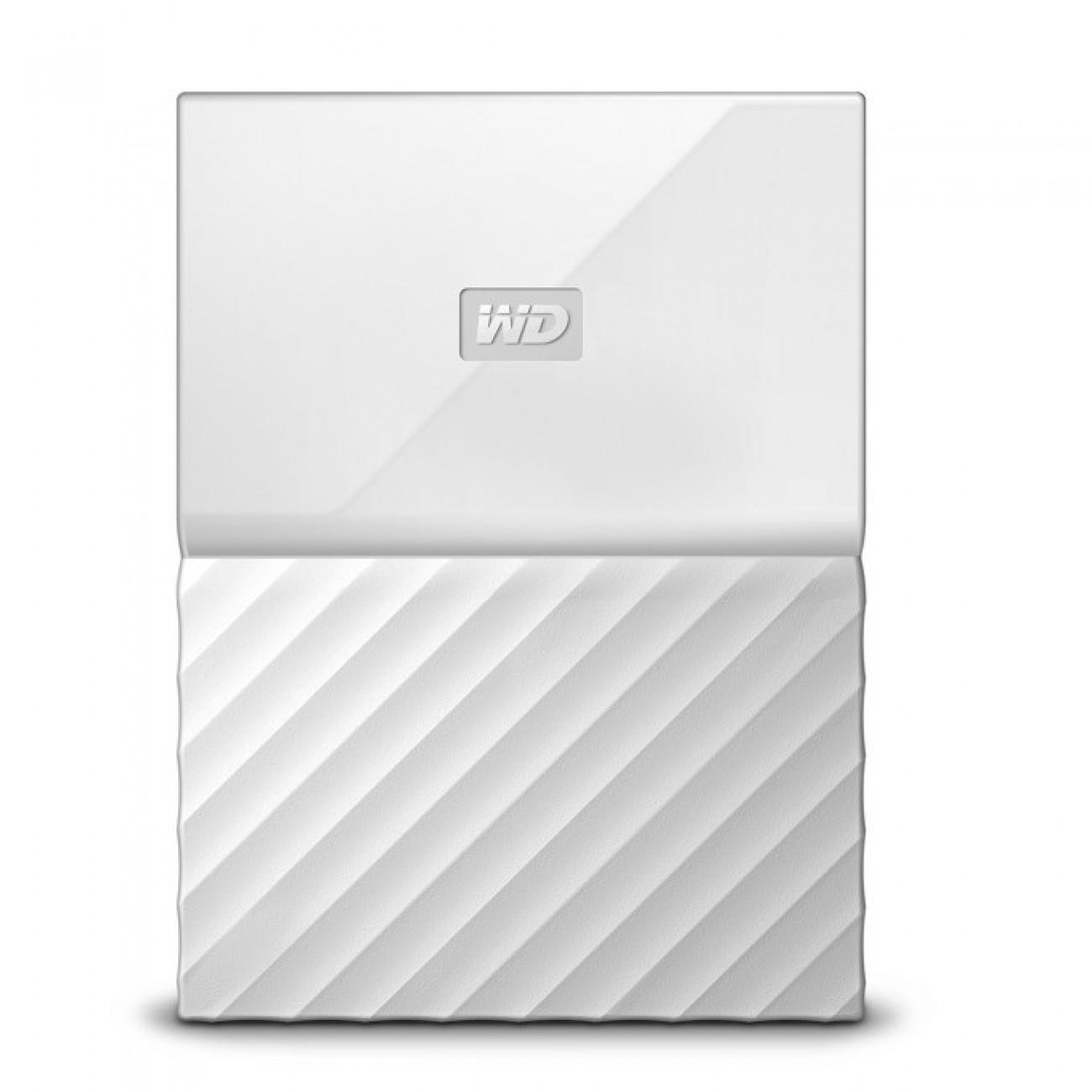 1TB Western Digital MyPassport, външен, 2.5(6.35cm), USB 3.0, бял в Твърди дискове Външни -  | Alleop