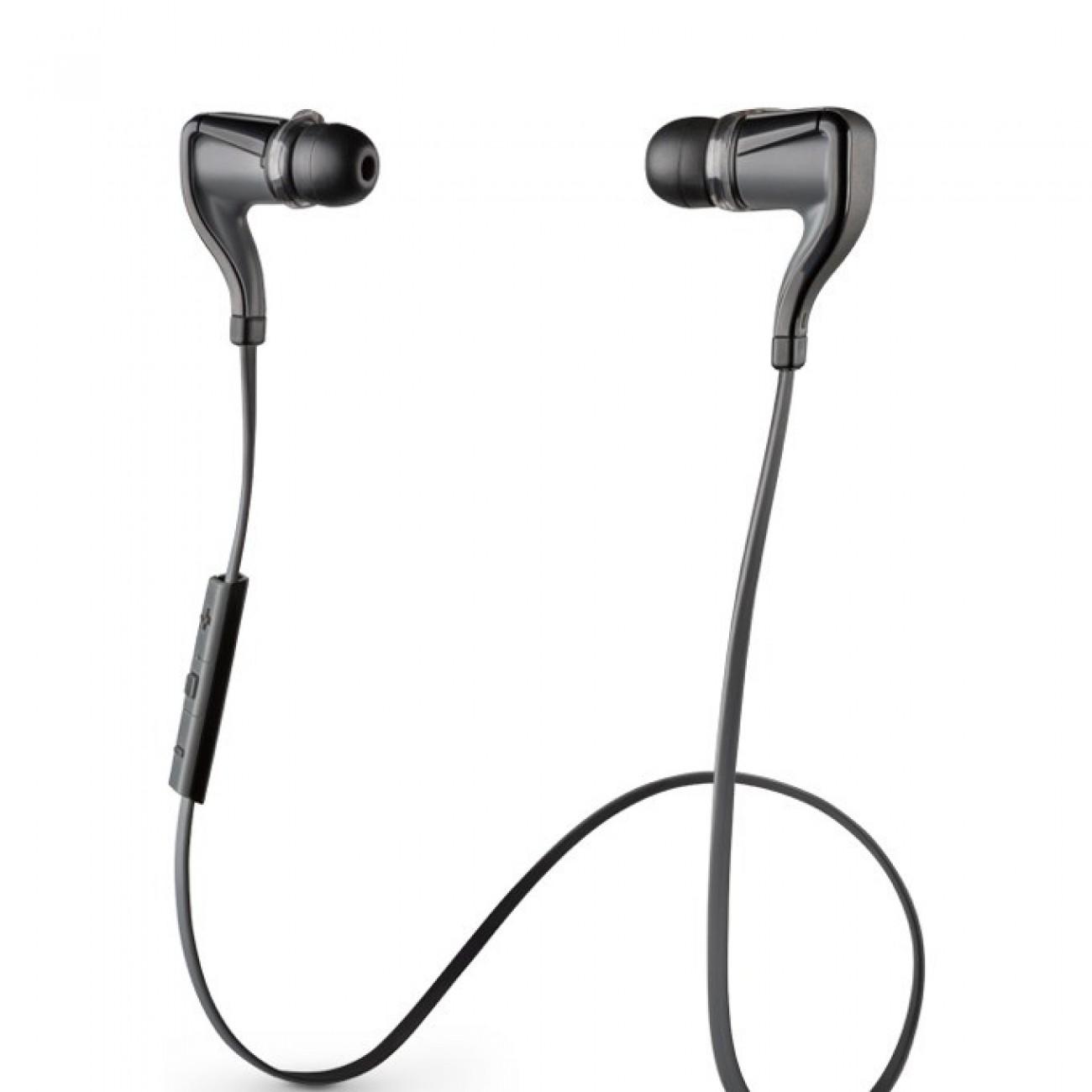 Слушалки Plantronics BackBeat Go 2 (черни), Bluetooth, тип тапи, водо/влагоустойчиви, микрофон в Слушалки -  | Alleop