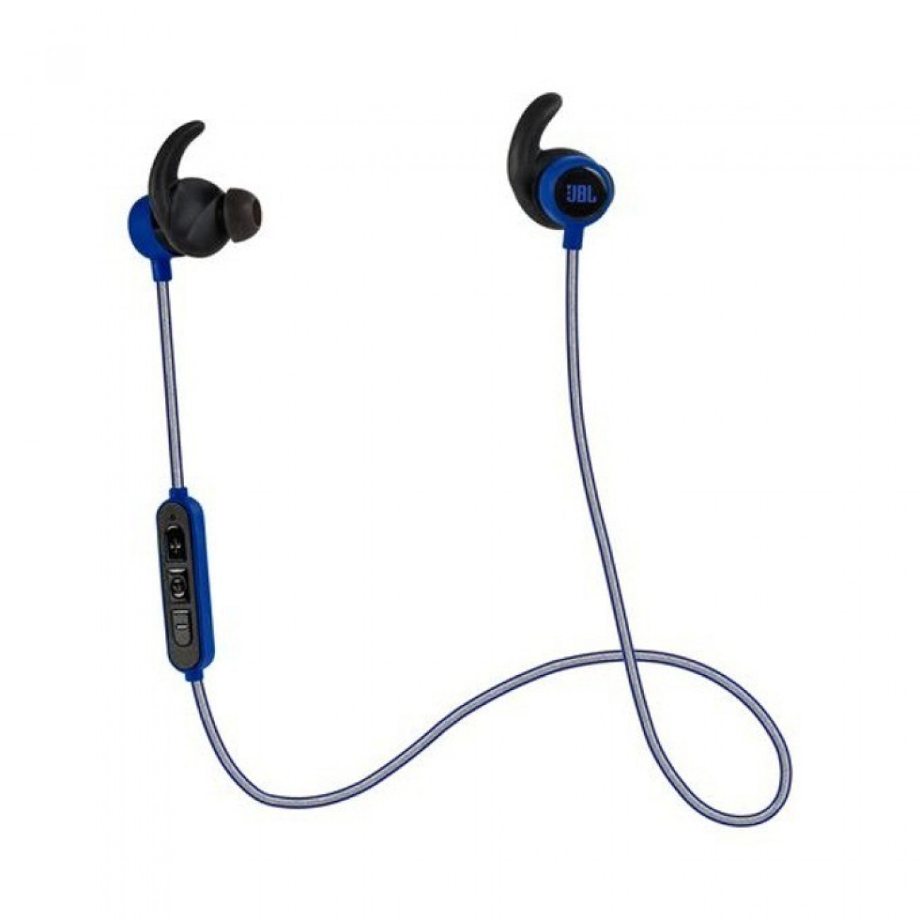 Слушалки JBL Reflect Mini BT, Bluetooth, микрофон, тип тапи, сини в Слушалки -  | Alleop