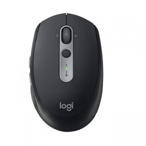 Мишка Logitech M590 Silent Mid Graphite, оптична (1000 dpi), безжична, Bluetooth, тъмно сива в Мишки -    Alleop