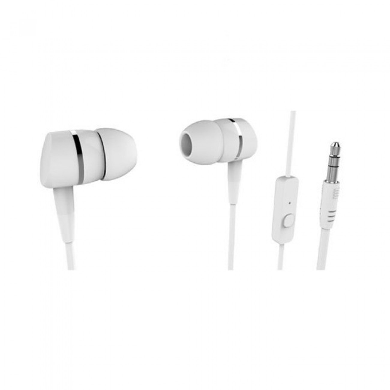 Слушалки Vivanco 38010, микрофон, 20  20.00Hz, 1.2м кабел, бели в Слушалки -  | Alleop