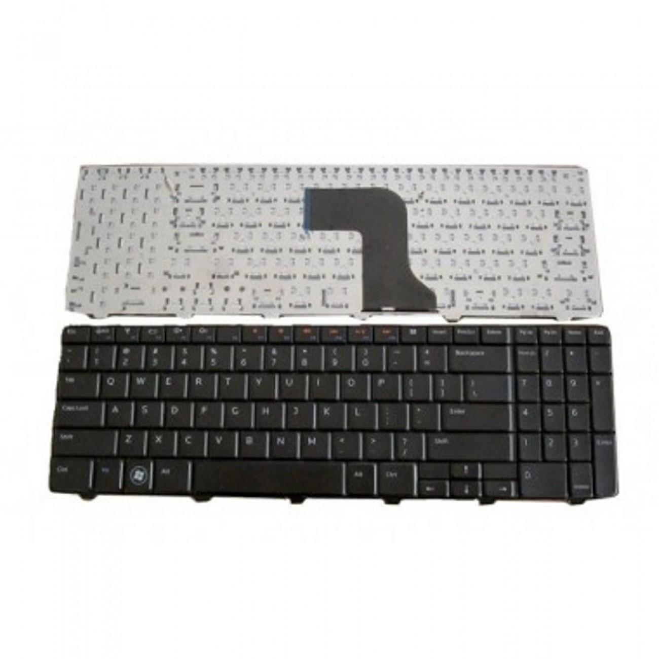 Клавиатура за Dell Inspiron, съвместима с N5010/M5010, Black UK с КИРИЛИЦА в Резервни части -  | Alleop