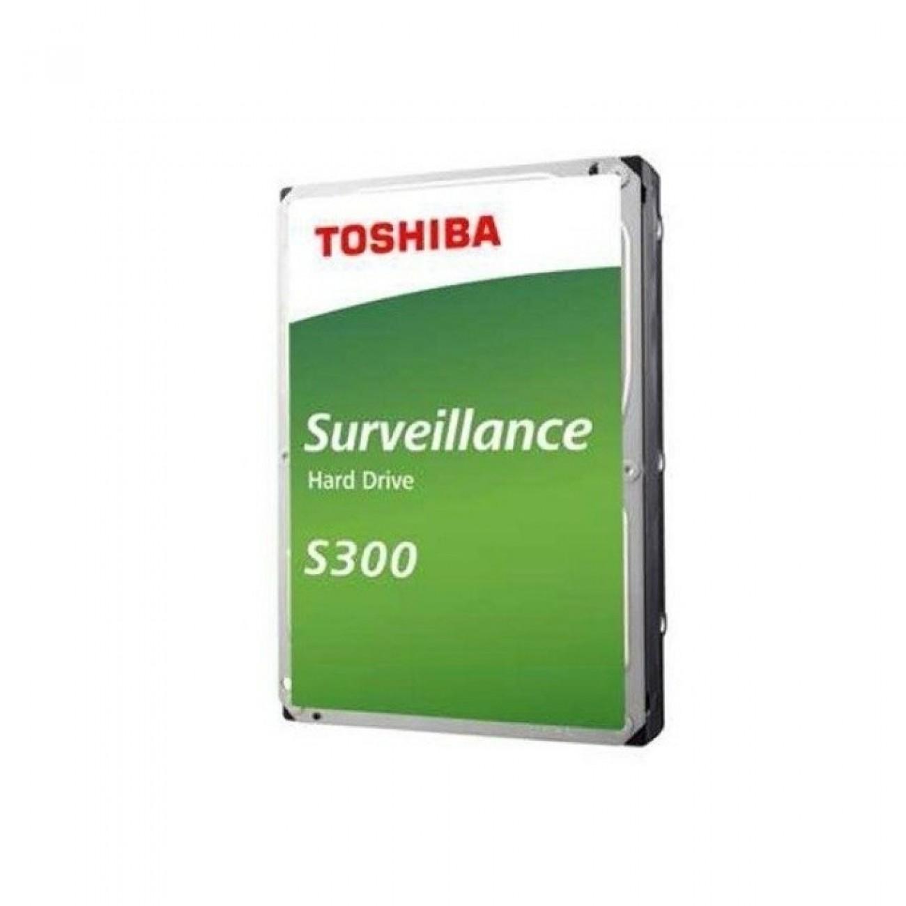 5TB Toshiba S300, SATA 6Gb/s, 5400 rpm, 128MB, 3.5 (8.89cm), Bulk в Твърди дискове Вътрешни -  | Alleop