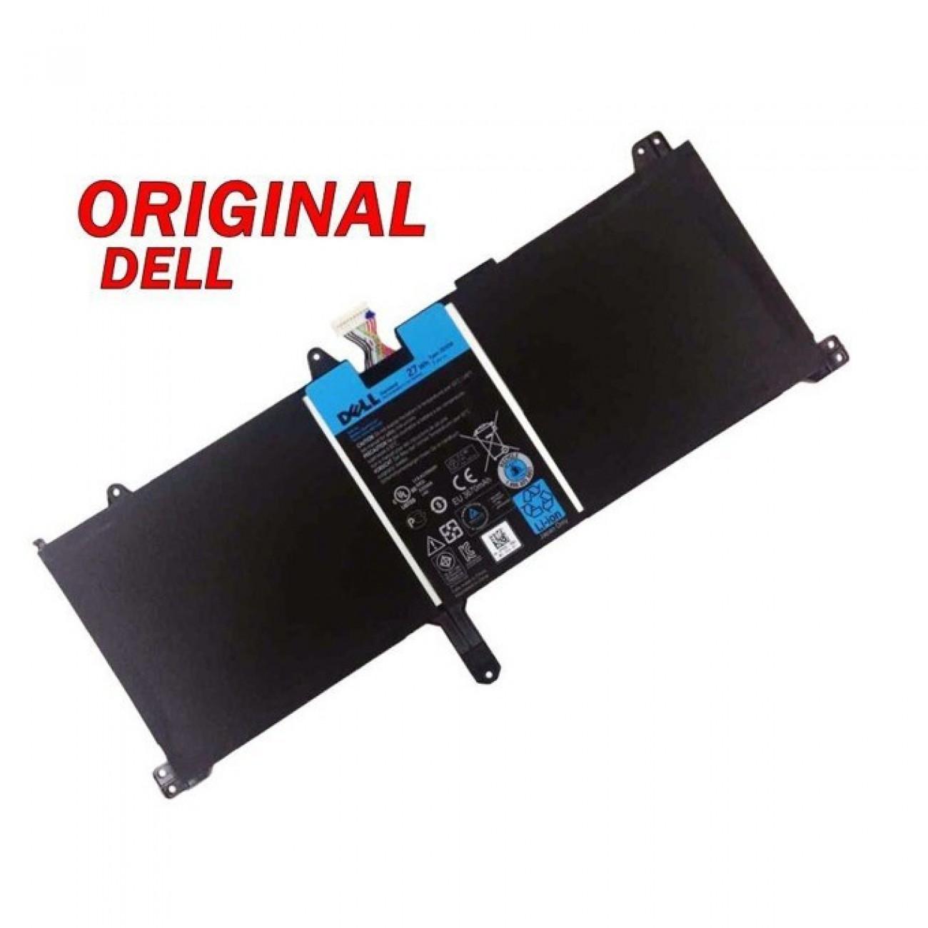 Батерия (оригинална) за лаптоп DELL XPS 10, 7.4V, 3600mAh, 27Wh в Батерии за Лаптоп -    Alleop