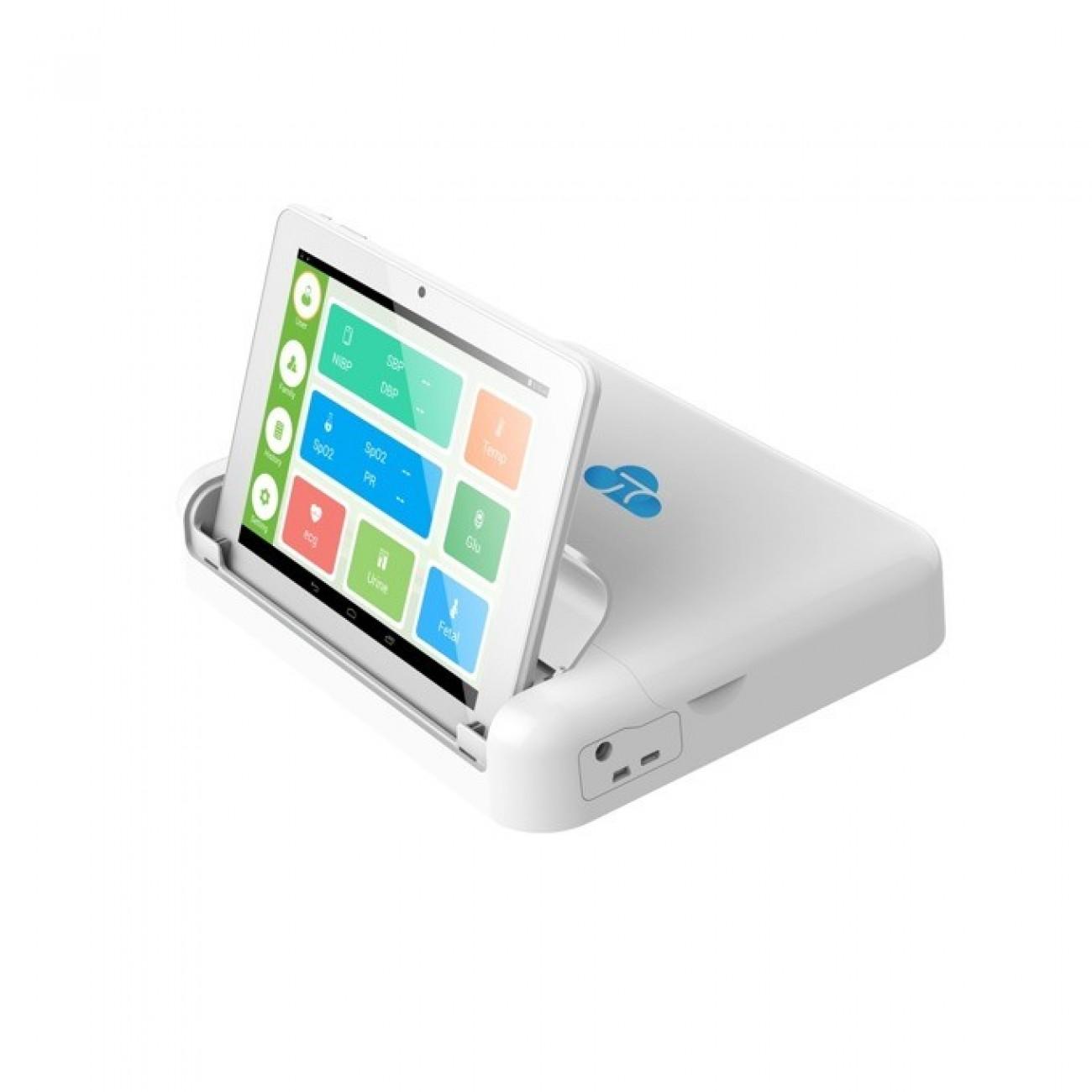Домашен медицински анализатор ZTE H8P, Bluetooth, Wi-Fi, 2G/3G/4G, Ethernet Port, USB, SIM слот, измерва различни физиологични параметри на човешкото тяло в Здраве и Фитнес -  | Alleop