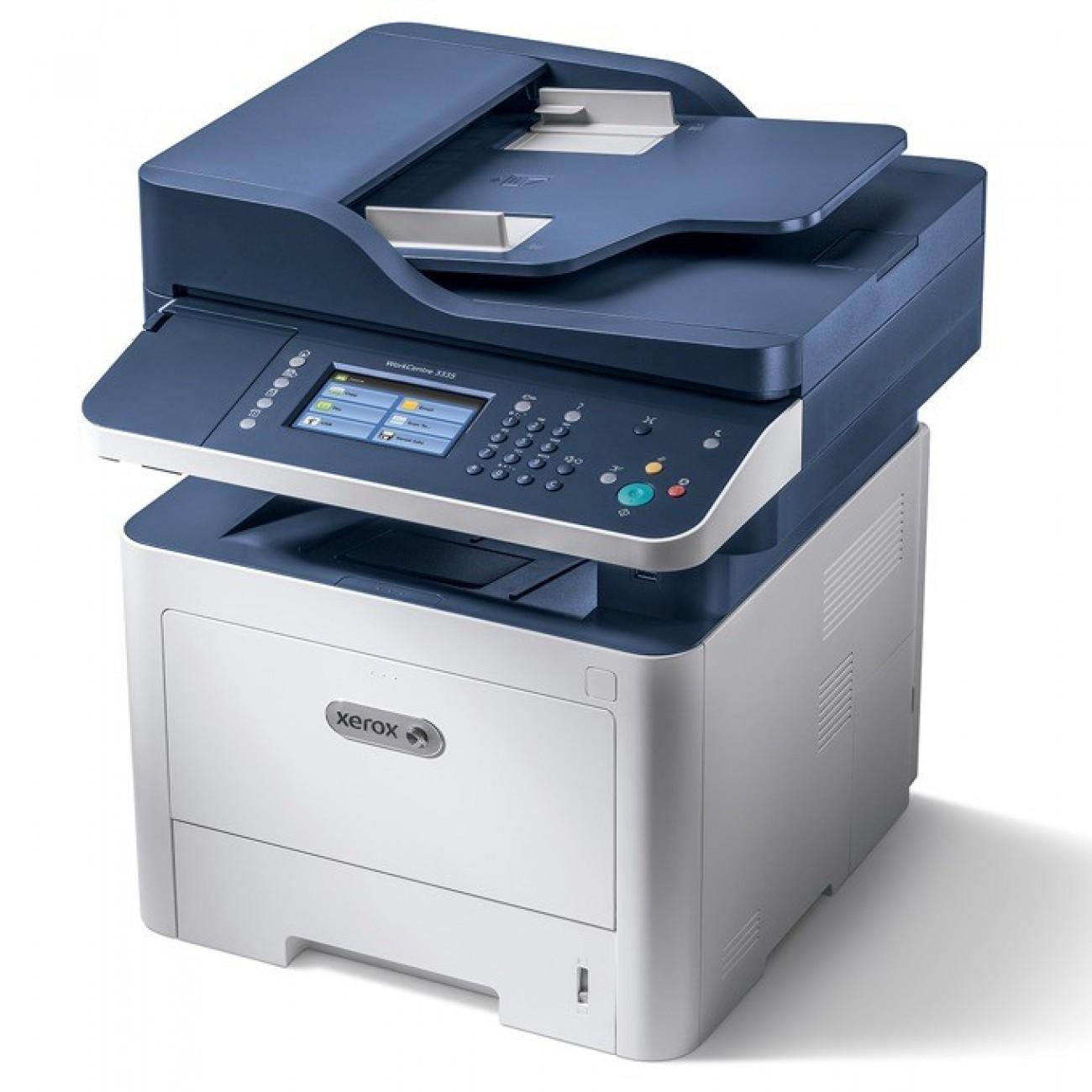Xerox WorkCentre 3335/DNI, монохромен лазерен принтер/копир/скенер/факс, 1200x1200, 33стр/мин, Lan, Wi-Fi, USB в Мултифункционали и MFP -    Alleop