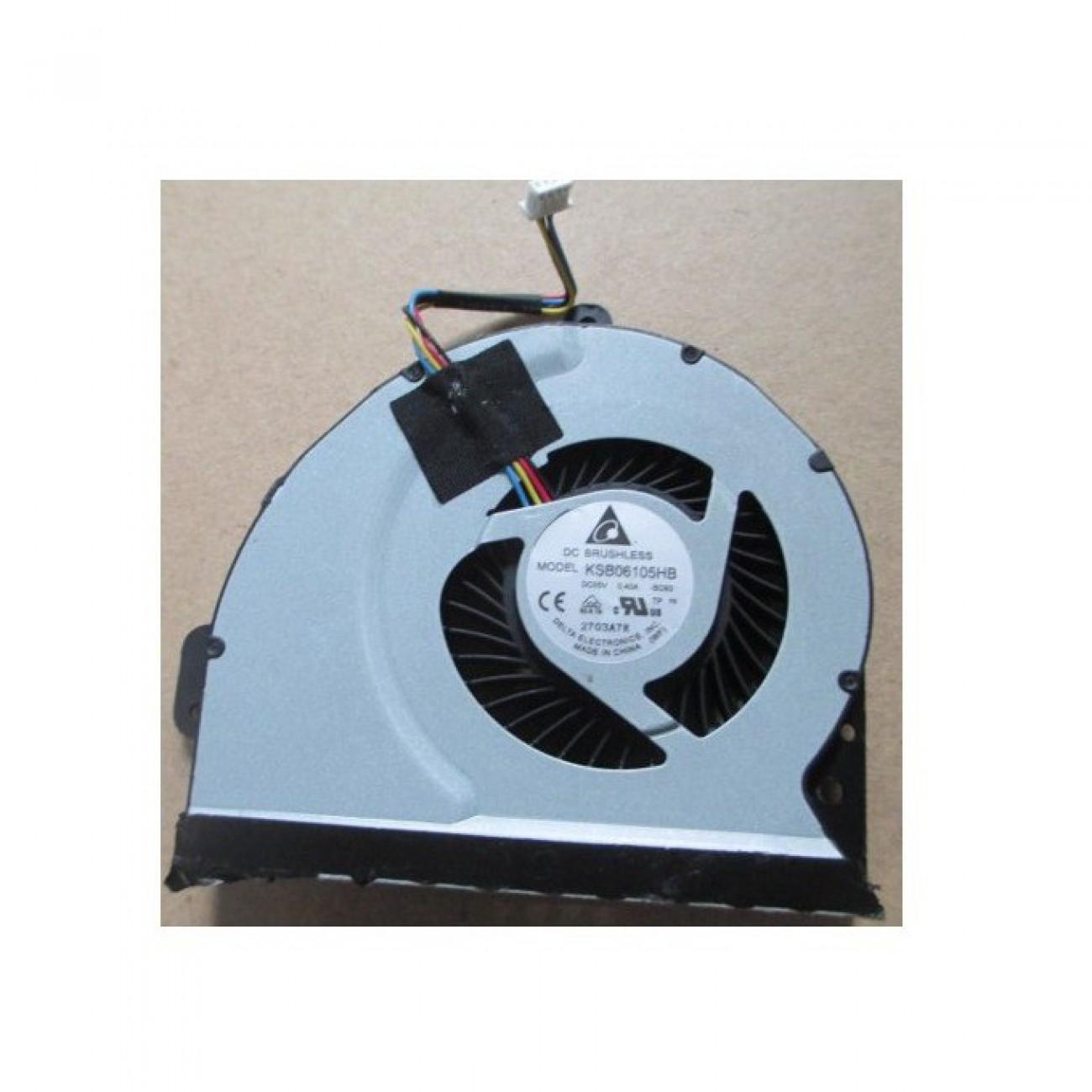 Вентилатор за лаптоп, ASUS N55 4 pins в Резервни части -  | Alleop