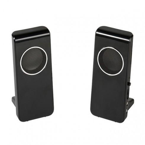 Тонколони Vivanco 36644, 2.0, 4W (2x 2W), 3.5mm jack, USB, черни в Колони -  | Alleop