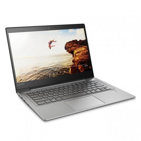 Лаптоп Lenovo IdeaPad 520s (80X200FNBM)(сив), двуядрен Kaby Lake Intel Core i7-7500U 2.7/3.5GHz, 14.0 (35.56 cm)Full HD IPS дисплей & nVidia GeForce 940MX 2GB(HDMI), 8GB DDR4, 256GB SSD, 1x USB Type-C, Free DOS, 1.18kg в Лаптопи -    Alleop