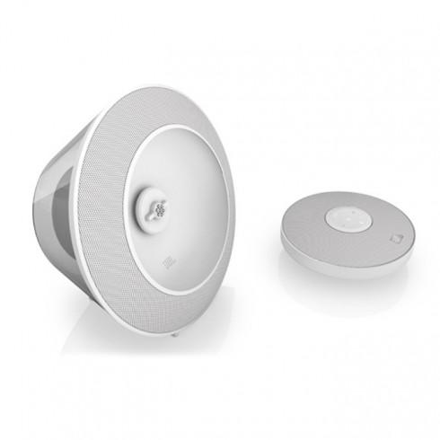 Тонколона JBL Voyager, 1.0, RMS 7W, Bluetooth, бяла, безжична преносима|вградена Li-Polymer батерия в Колони -  | Alleop