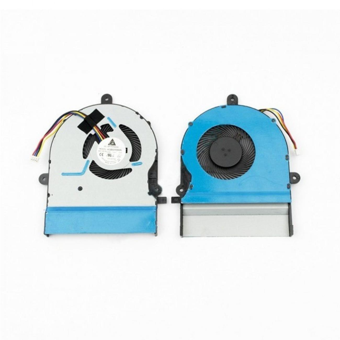 Вентилатор за лаптоп ASUS K501LX K501UX A501L V505L в Резервни части -  | Alleop