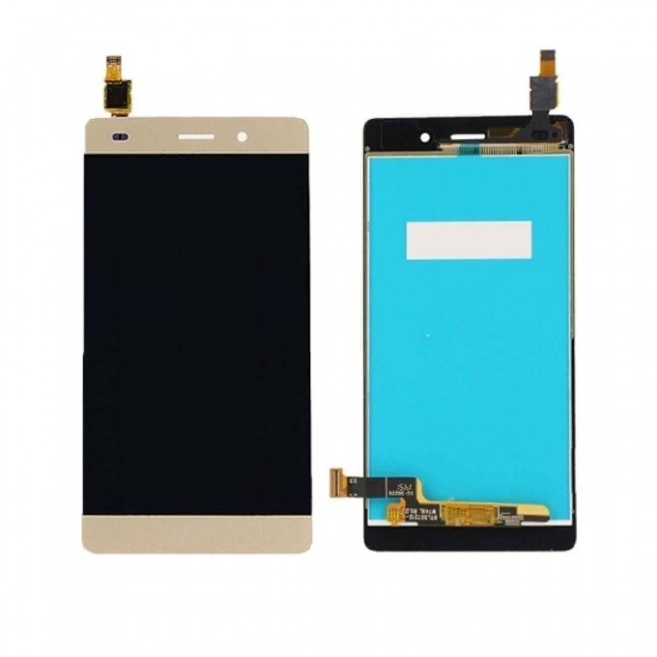 Дисплей за Huawei Ascend P9 lite, с тъч, златен в Резервни части -  | Alleop