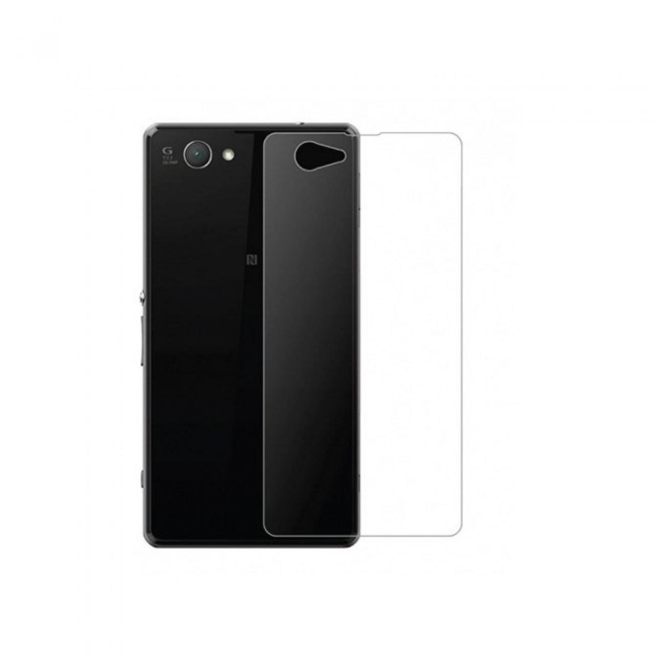 Протектор от закалено стъкло /Tempered Glass/ Sony за Xperia Z1 Mini Compact, протектор за гръб в Защитно фолио -    Alleop