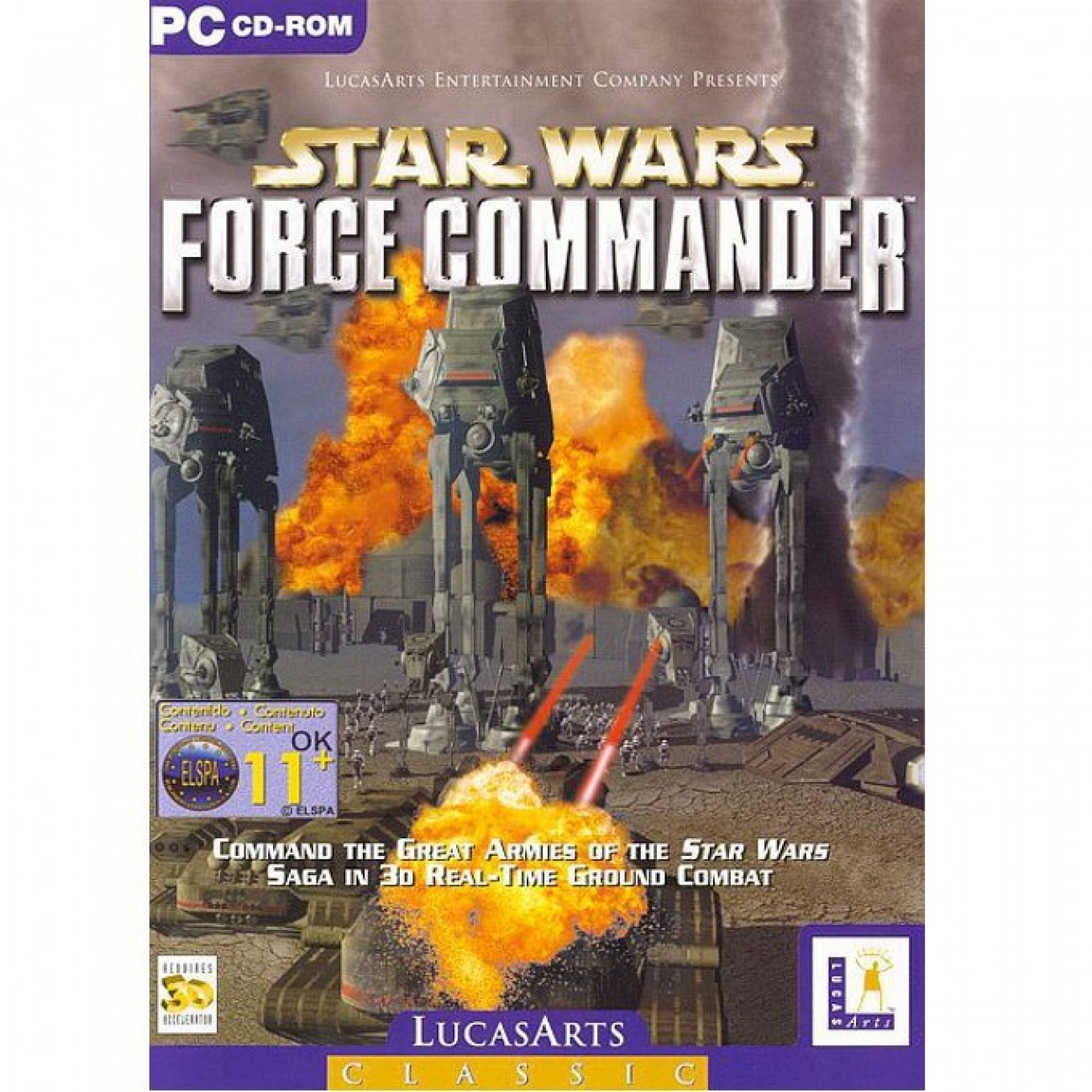 Star Wars: Force Commander, за PC в Игри за PC -  | Alleop