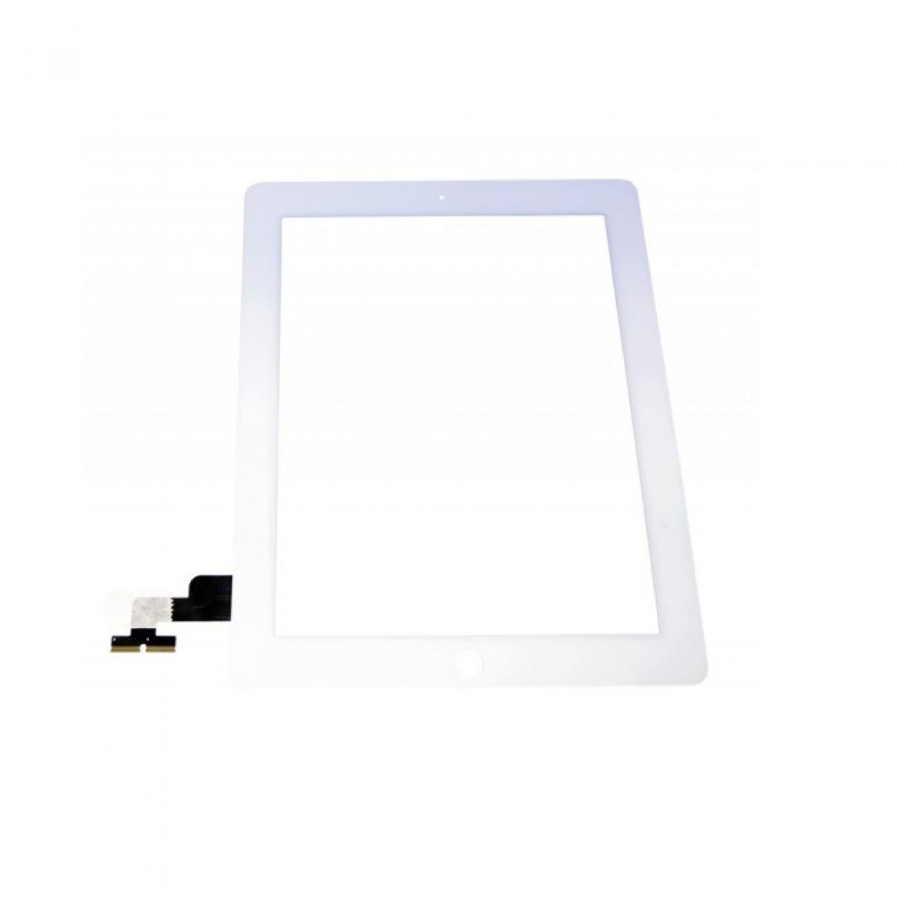 Тъч модул за Apple iPad 2, 9.7 (24.63 cm), touch, без home бутон, бял в Резервни части -  | Alleop